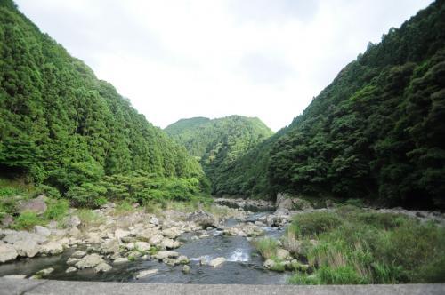 正木ダム近く