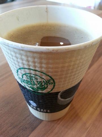 バーガーキングのコーヒー