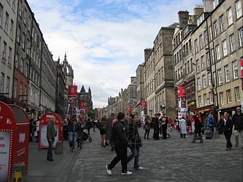 EDI city centre