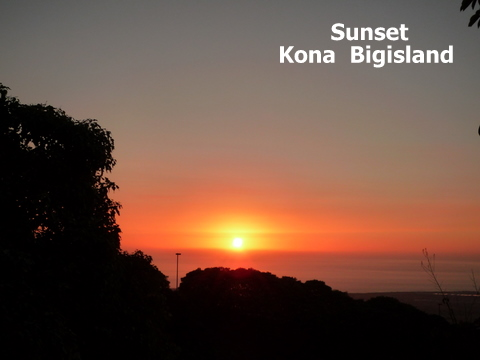 Sunset Bigisland