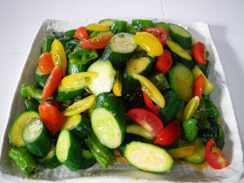 夏野菜炒め79