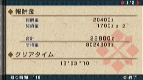 選者×ガチ双剣(18分54秒)正式タイム