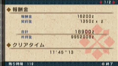 飛竜走×ガチ双剣(11分46秒)正式タイム