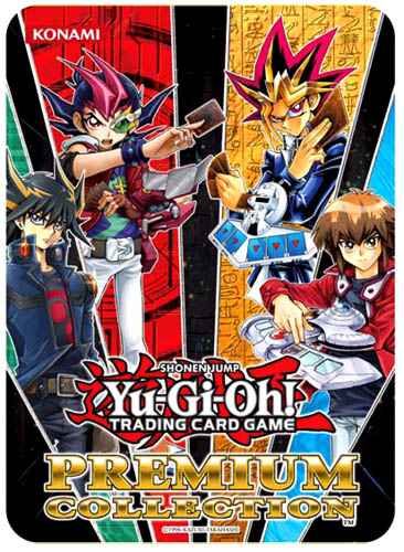 Yugioh 2012 Premium Collection Tin