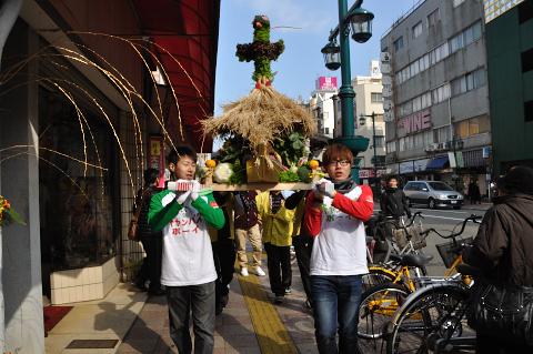 神輿パレード