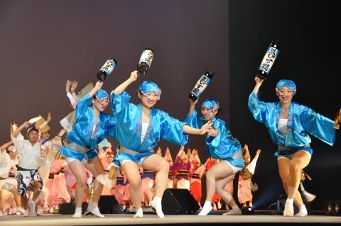 ハッピ踊り