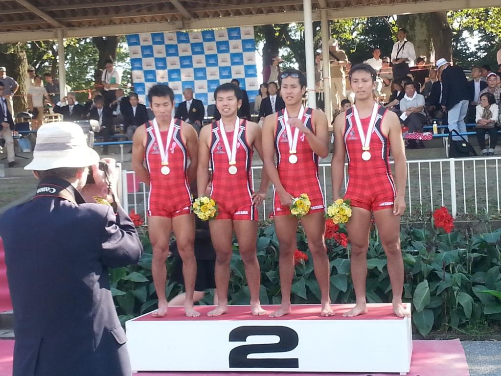 2013全日本4-表彰式