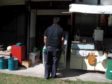 冷蔵庫来る