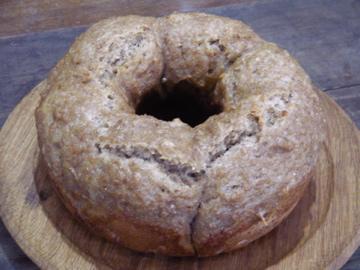 柿酵母パン