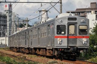 2011年9月11日 東急池上線 石川台~雪が谷大塚 7700系7906F