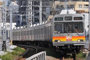 2011年9月12日 東急大井町線 下神明 8090系8095F