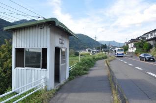 2011年9月16日 上田バス 本原バス停
