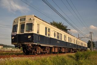 2011年9月16日 上田電鉄別所線 下之郷~大学前 7200系7253F