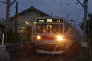 2011年9月16日 上田電鉄別所線 八木沢 1000系1004F