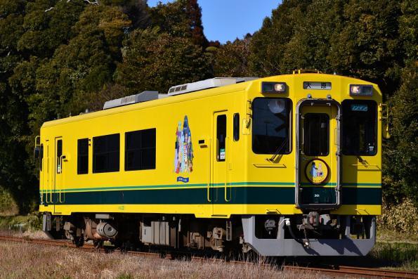 2013年1月23日 いすみ鉄道いすみ線 城見ヶ丘~上総中川 いすみ300形301号