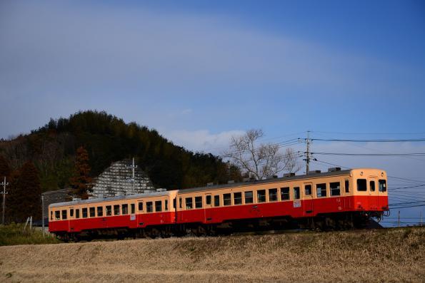 2013年1月23日 小湊鉄道線 高滝~里見 キハ200形212+213