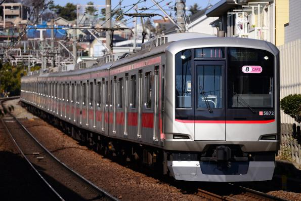 2013年1月30日 東急東横線 5050系5172F