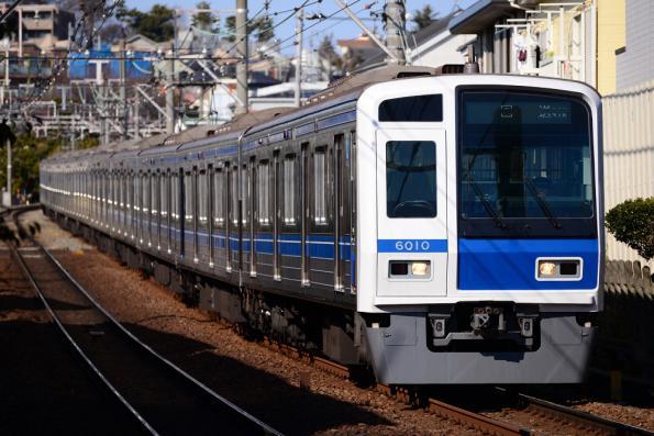 2013年1月30日 東急東横線 西武6000系6110F