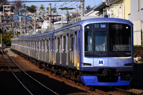 2013年1月30日 東急東横線 横浜高速Y500系Y513F
