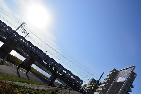 2013年2月2日 東急東横線 大倉山~綱島 9000系9001F