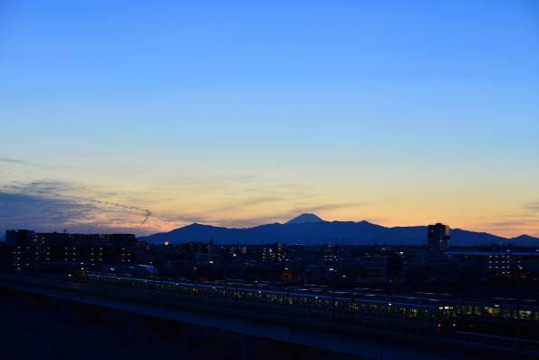 2013年2月8日 東急東横線 多摩川~新丸子 9000系9012F