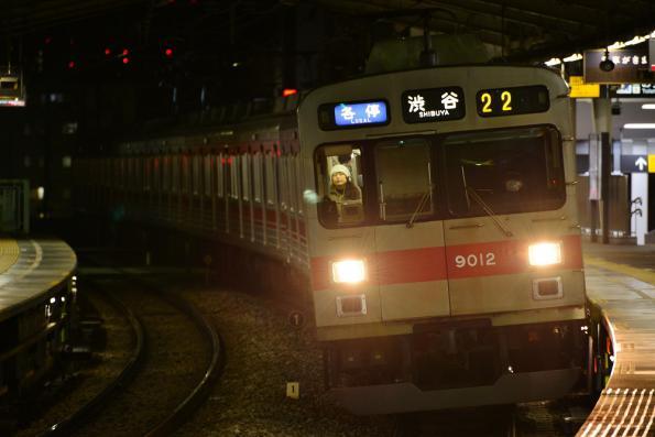 2013年2月10日 東急東横線 妙蓮寺 9000系9012F