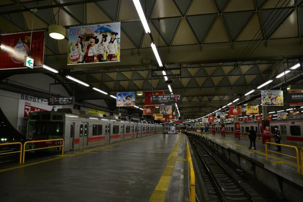 2013年2月10日 東急東横線 渋谷 9000系9001F・9010F