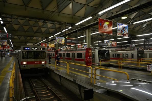 2013年2月10日 東急東横線 渋谷 9010F・5151F・9012F