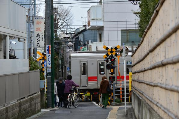 2013年2月17日 東急東横線 白楽~東白楽 9000系9012F
