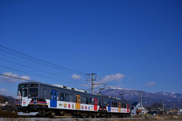2013年2月23日 上田電鉄別所線 赤坂上~三好町 1000系1003F