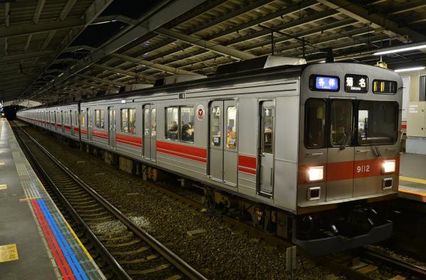 2013年2月25日 東急東横線 綱島 9000系9012F