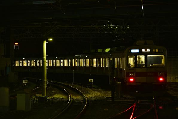2013年2月25日 東急東横線 菊名 9000系9012F