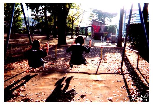 ある暖かい秋の日