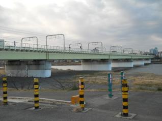 小田急線多摩川橋梁