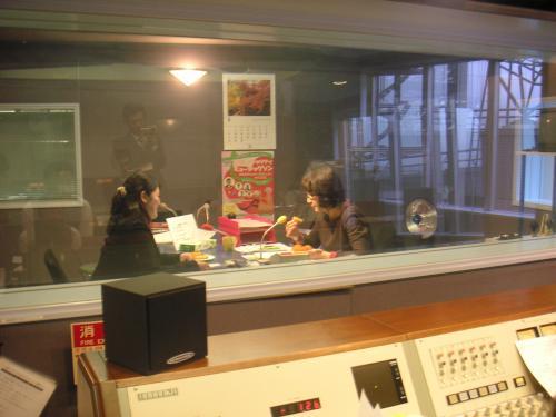 ラジオ収録2