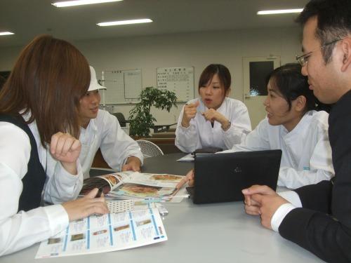 西沢グループミーティング中