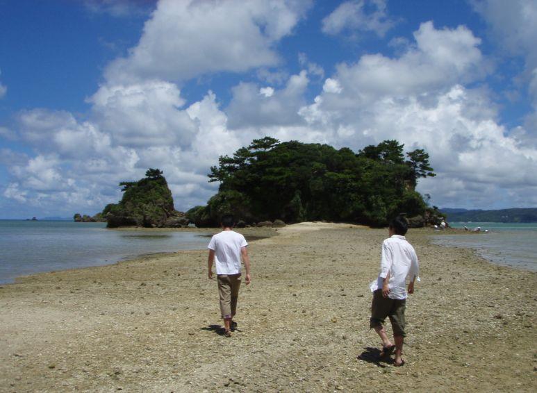 広島の恋愛成就の孤島思い出した。