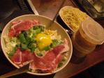 豚肉青葱大阪焼き