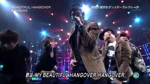 BIG BANG. Beautiful Hangover [ Music Station ] [27 August 2010 ].flv_000138383