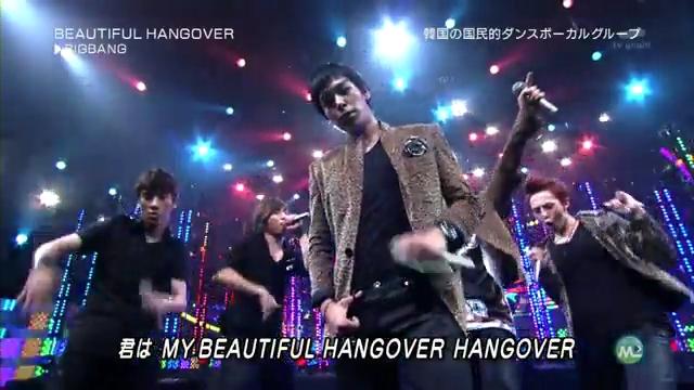 BIG BANG. Beautiful Hangover [ Music Station ] [27 August 2010 ].flv_000137480
