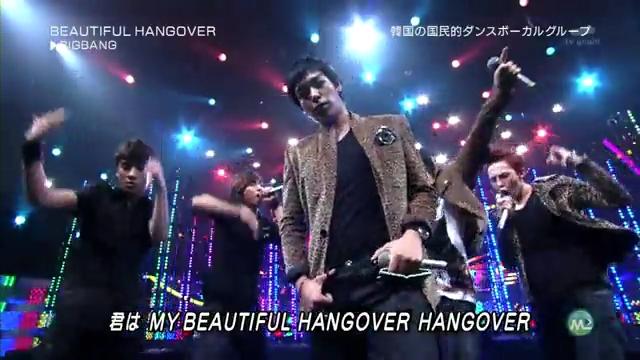 BIG BANG. Beautiful Hangover [ Music Station ] [27 August 2010 ].flv_000137347