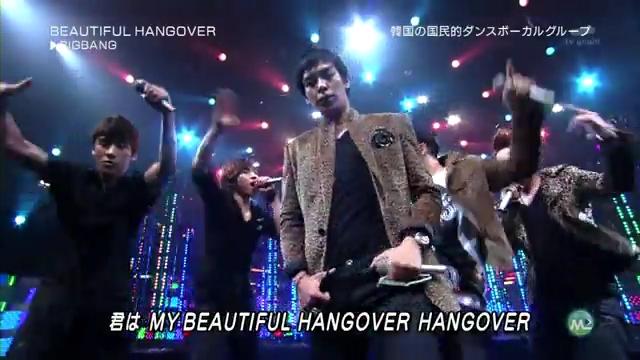 BIG BANG. Beautiful Hangover [ Music Station ] [27 August 2010 ].flv_000137180