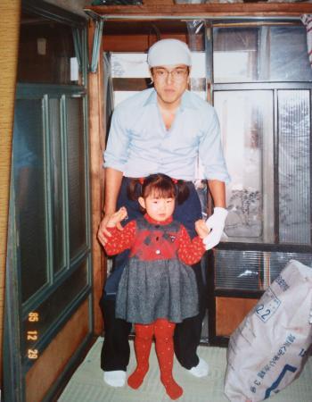 昔々の父と私