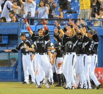 絵日記7・24ヤクルト勝利