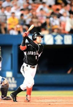 絵日記10・3横浜鳥谷1