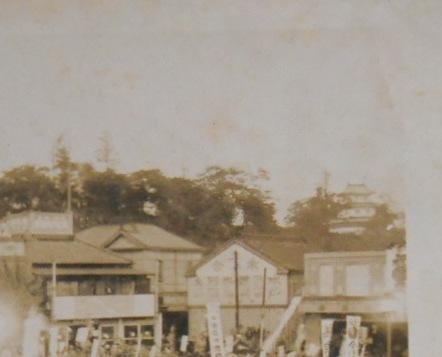 水戸駅前の水戸城2