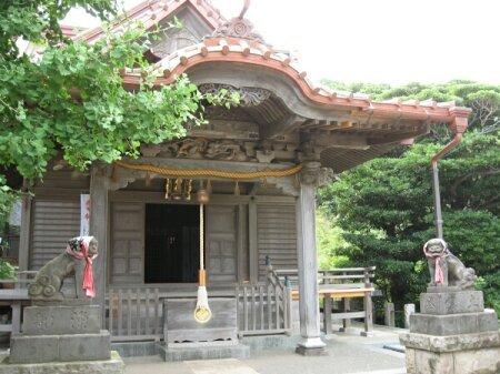 rich plum-小動神社