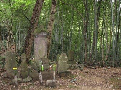 rich plum-氏照の墓