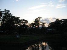 rich plum-夕暮れの公園