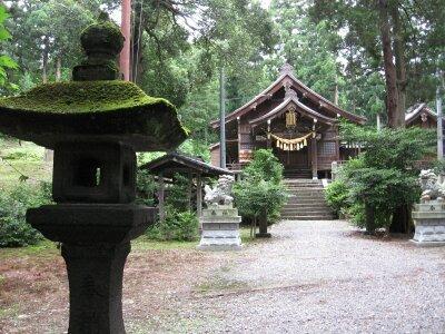 rich plum-斐太神社